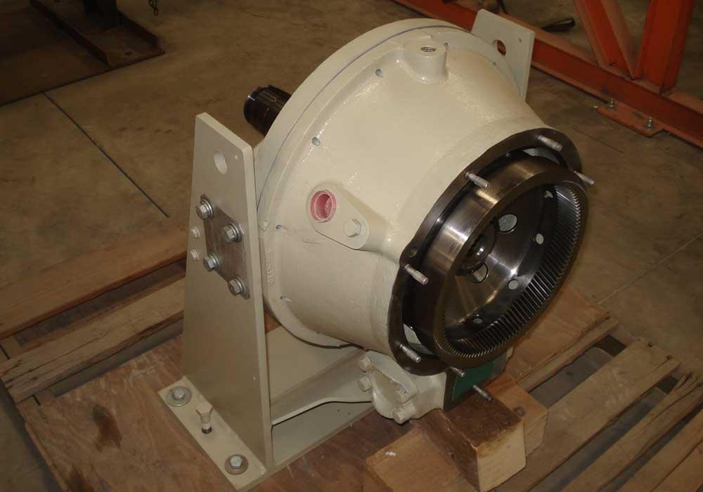 Solar Centaur Gearbox Rear View